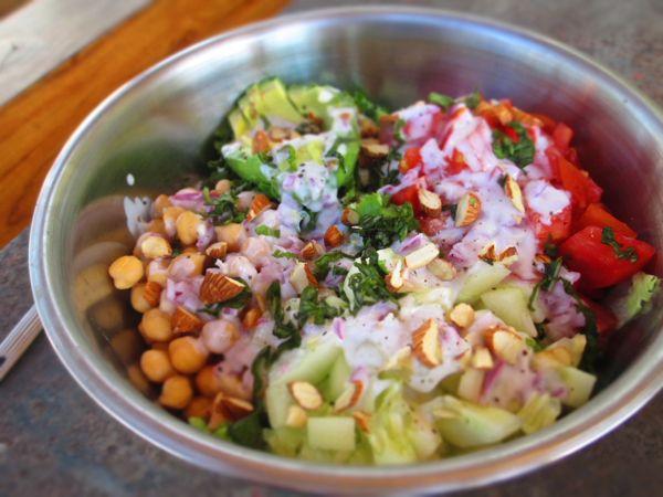 Healthy Vegetarian Cobb Salad