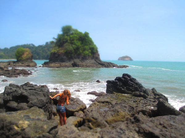 Manuel Antonio Beach Rocks