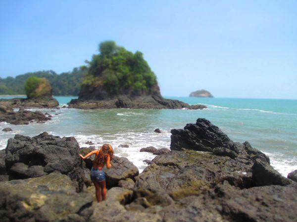 Manuel Antonio Beach Rocks
