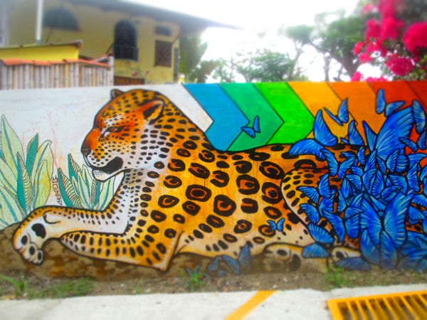 Manuel Antonio Street Art