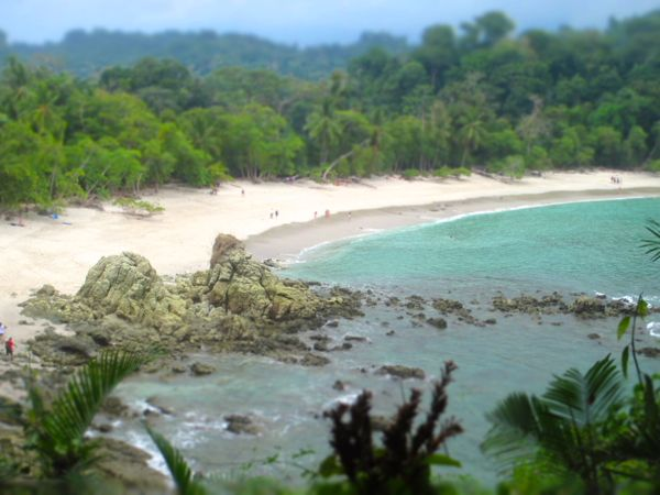 Manuel Antonio Beach Park View
