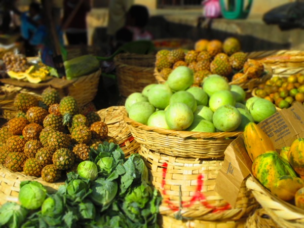 Granada, Nicaragua fruit market