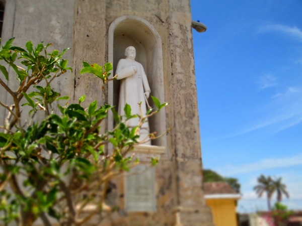 Granada, Nicaragua church