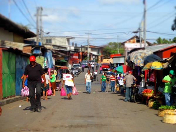 Granada, Nicaragua street