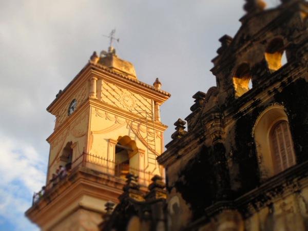 Bell Tower of Iglesia Merced
