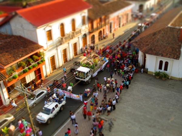 Carnival in Granada, Nicaragua