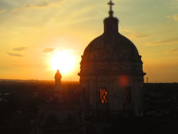 Sunset in Granada, Nicaragua