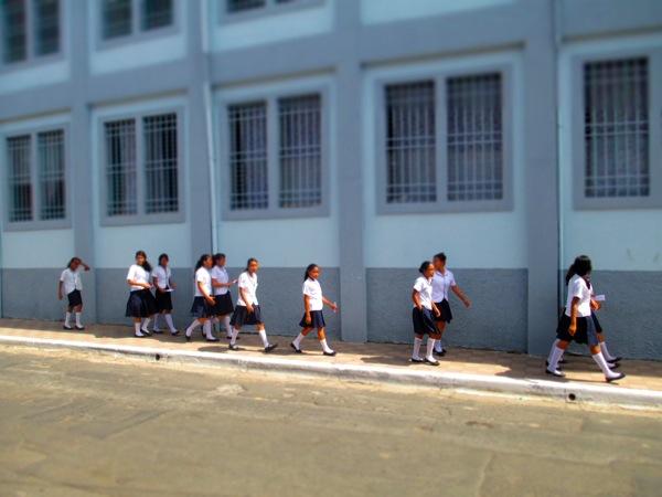 Granada Nicaragua school girls