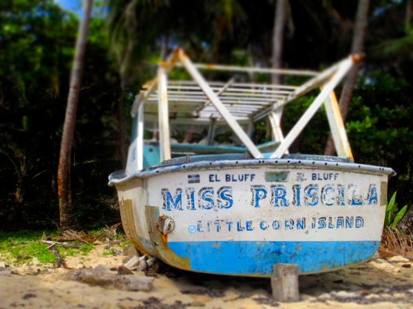 Little Corn Island Miss Priscilla
