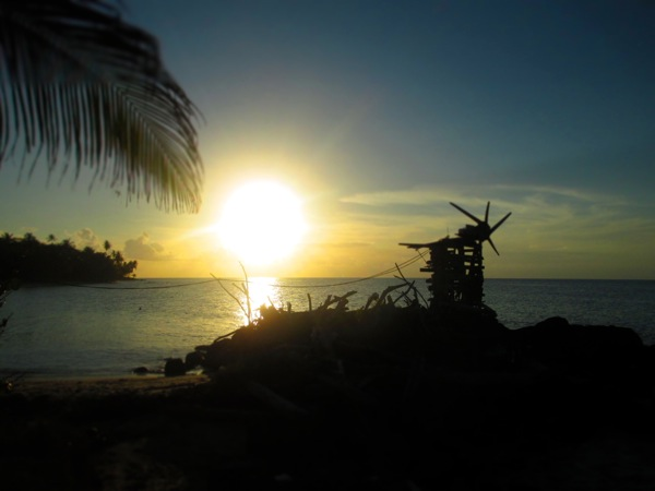 Little Corn Island Sunset
