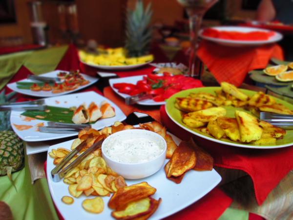 Hotel Aranjuez breakfast