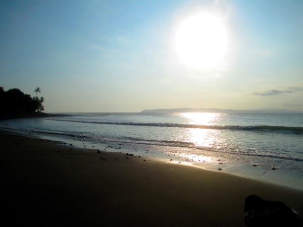 pavones sunset