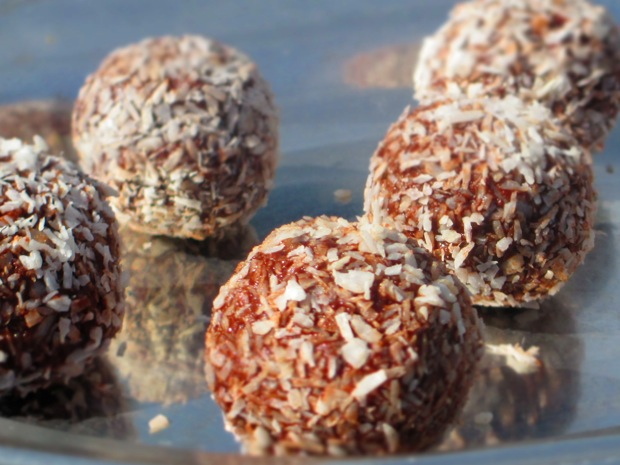 Raw Cacao Truffles of the Gods