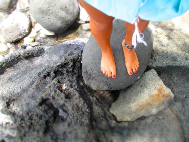 little corn island rocks