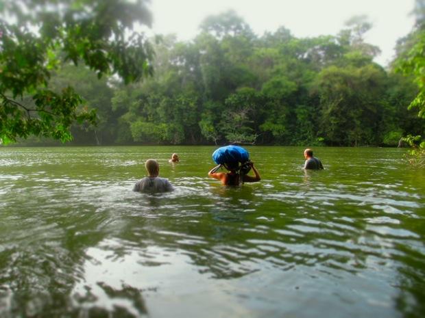 river crossing corcovado