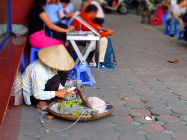 A Woman in Hanoi