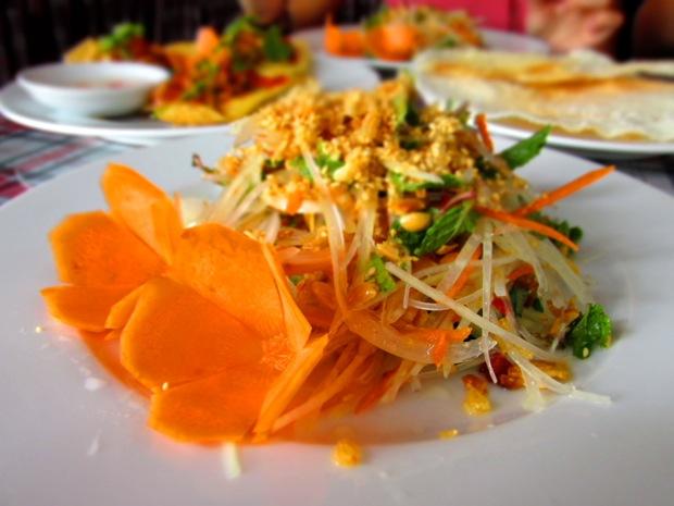 green papaya salad vietnamese