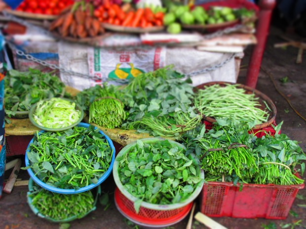 hoi an vegetable market