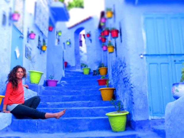 Woman Alone Morocco - 01