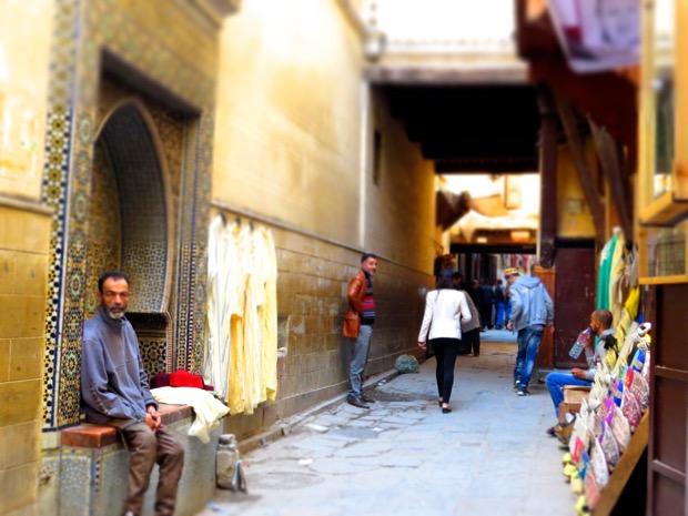 Woman Alone Morocco - 03