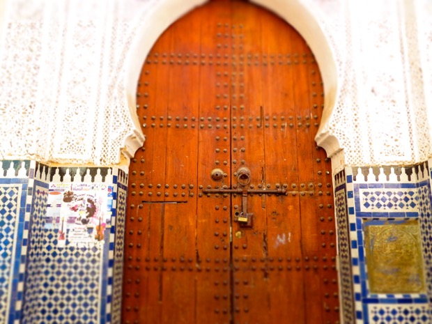 Woman Alone Morocco - 09