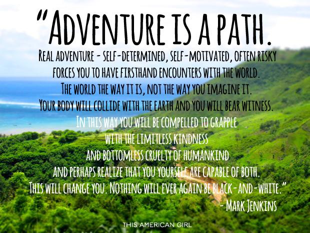 adventureisapath