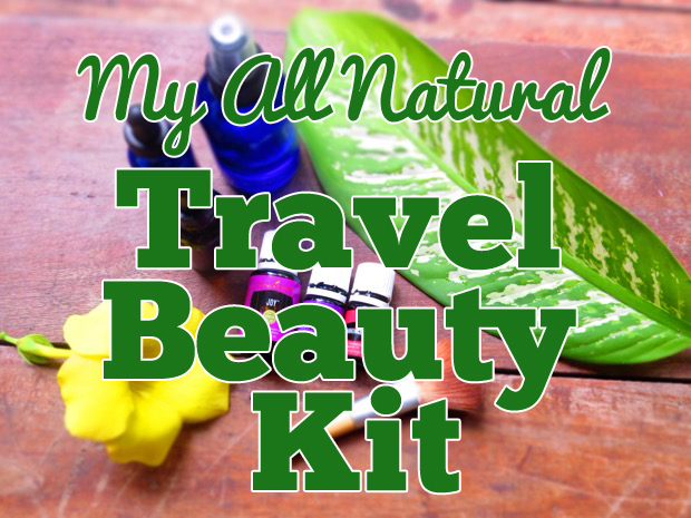 my travel beauty kit